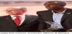 Usain Bolt a Monaco : miglior atleta mondiale del 2013