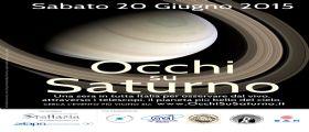 20 giugno 2015 - Arriva Occhi su Saturno