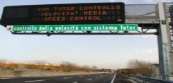 A Ferragosto tornano i tutor sulle autostrade! Erano stati spenti nel 2018