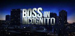 Boss in incognito : Da martedì 24 gennaio alle 21.20 su Rai2