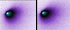 Anche MRO riprende il piccolo nucleo della cometa Siding Spring