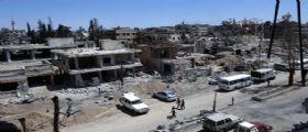 Siria, scoperta choc, trovata fossa comune sotto un campo di calcio : Forse 200 corpi