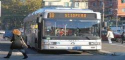 Sciopero Trasporti : Confermato Mercoledì 19 Marzo per autobus e metro
