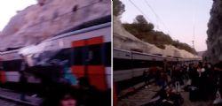 Scontro tra due treni in Spagna : un morto e otto feriti