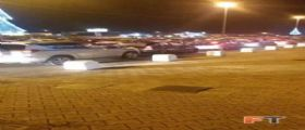 Foggia : Automobilisti bloccati per Checco Zalone Quo vado?