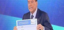 Silvio Berlusconi : M5s più pericoloso dei post comunisti del 1994