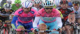 CICLISMO - Nibali domina la cronoscalata, sempre più solo in classifica