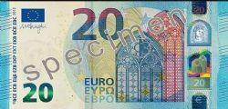 La nuova banconota da 20 euro a prova di truffa