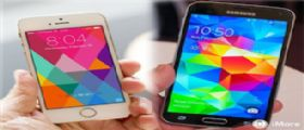 iPhone 5S vs Galaxy S5 : Un test di velocità