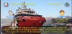Traffico di rifiuti speciali : Sequestrata la nave Aquarius