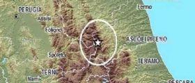 Terremoto Ascoli Piceno : Sisma magnitudo 3.4 Monti Sibillini