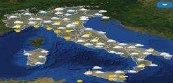 Arriva il freddo dalla Russia! Previsioni meteo domani lunedì 19 novembre