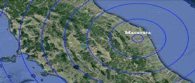 Scossa di terremoto magnitudo 3.1 in provincia di Macerata : Epicentro nel comune di Muccia