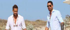 I fratelli Borriello in vacanza a Formentera : Fabio single dopo la lite con Emma Marrone