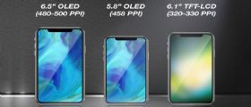 Nel 2018 arriveranno tre nuovi iPhone, due con Display OLED e uno con display LCD