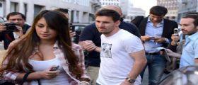 Lionel Messi a Milano, ma solo per shopping