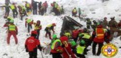 Hotel Rigopiano : recuperato altro corpo, 12 il bilancio delle vittime accertate
