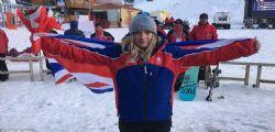 Morta il giorno del compleanno la 18enne Ellie Soutter : Era una promessa dello snowboard