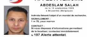 Allerta Parigi : Il terrorista Salah Abdeslam avvistato a 5 chilometri da Bruxelles