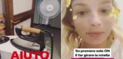 Emma Marrone in crisi con il bucato chiede aiuto ai follower