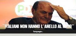 Pier Luigi Bersani sul Referendum : S gioca la carta della paura, ma gli italiani non hanno l