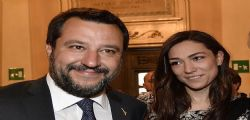 Matteo Salvini e Francesca Verdini ancora insieme! il Ministro smentisce il gossip