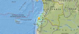Forte scossa di terremoto in Ecuador magnitudo 6.4
