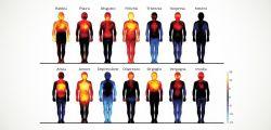 Mappa delle emozioni : da quali parti del corpo hanno origine?