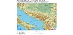 Bosnia, terremoto magnitudo 4.1 nel Sud