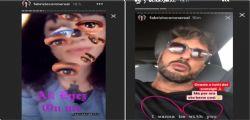 Fabrizio Corona e Asia Argento sfidano Fedez e Chiara Ferragni su Instagram