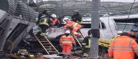 Milano, treno deragliato : Sale a tre il numero dei morti, 100 i feriti - Forse cedimento dei vagoni