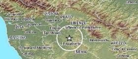 Ultima ora   Sciame sismico in corso nel Chianti registrate 21 scosse : Terremoto magnitudo 3.8