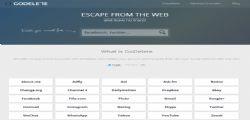 Godelete Scappa dal web : Elimina tutti i tuoi dati dal web