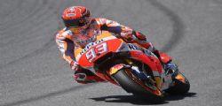 MotoGp Catalogna : Marc Marquez miglior tempo prove libere
