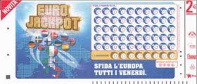 Eurojackpot Ultima Estrazione n°31   Venerdì 01 Agosto 2014