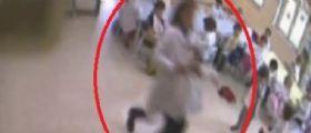 Udine : Ragazzino straniero aggredisce la prof con calci e pugni