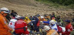 Colombia : valanga di fango travolge un autobus - almeno 13 vittime