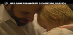 Papà Luca e la piccola Alba! la bambina down abbandonata e adottata