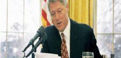 Epstein aveva nella sua casa un ritratto di Bill Clinton vestito da donna?