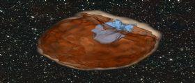 Scontri spaziali : osservata una supernova in collisione con la sua compagna