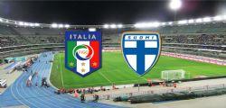 Italia-Finlandia : Streaming 06 Giugno amichevole dallo Stadio Bentegodi di Verona