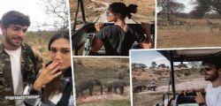 Si amano alla follia : Cecilia Rodriguez e Ignazio Moser indigeni nella savana