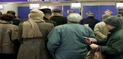 Inps :7,2mln pensionati sotto mille euro