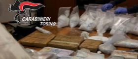 Torino, stroncato maxi giro di droga da milioni di euro : I carabinieri arrestano tre malviventi