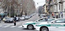 Vigile travolto a Torino da Auto che non si ferma all