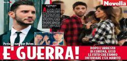 Stefano De Martino contro Belen Rodriguez per le foto di Santiago con Andrea Iannone