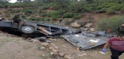 Tunisia, bus turistico precipita in un dirupo! 22 morti, avevano tutti tra i 20 e i 30 anni