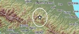 Terremoto Oggi, due scosse tra Firenze e Bologna : La seconda di magnitudo 3.7