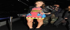 Melissa Satta strepitosa alla Milano Fashion Week