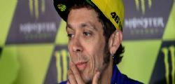 Incidente Valentino Rossi : fratture e ricovero in ospedale